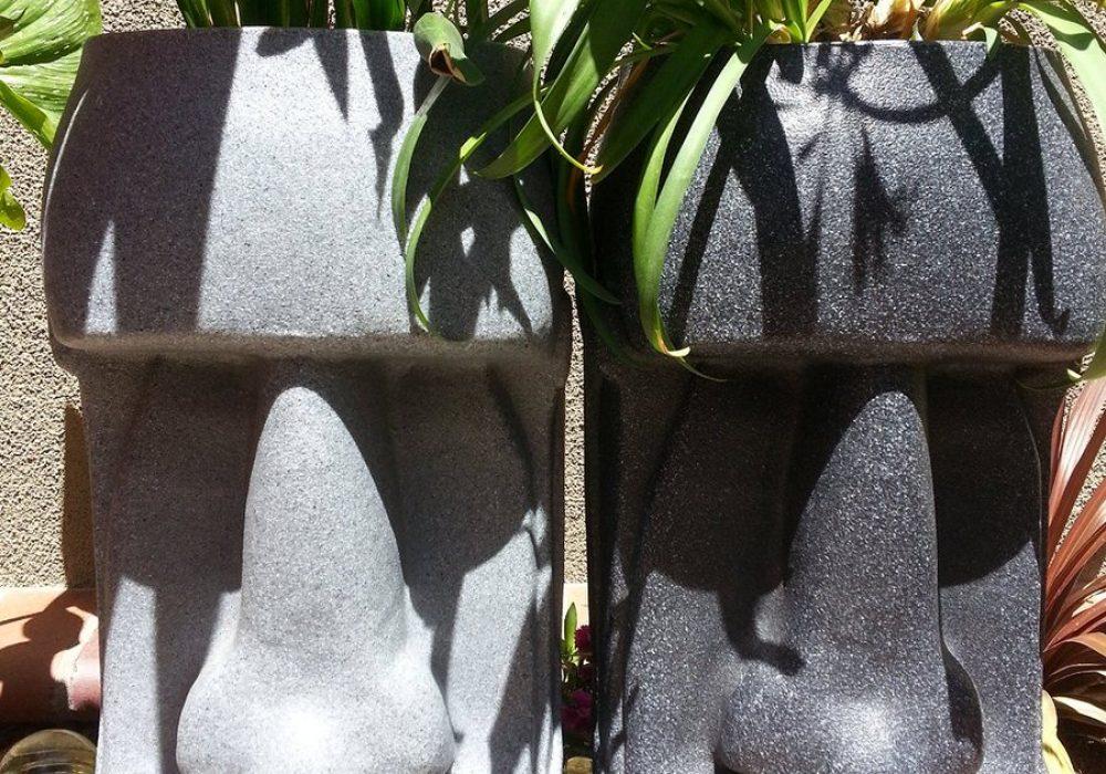 The Tiki Shop Easter Island Planter Hawaiian Garden Theme