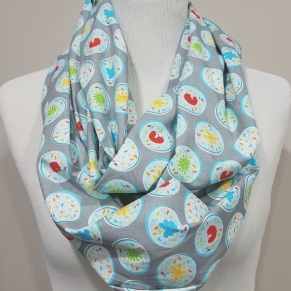 TheProverbialShop Petri Dish Infinity Scarf