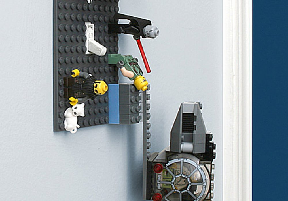 ThinkGeek Build-On Brick Light Switch Plate