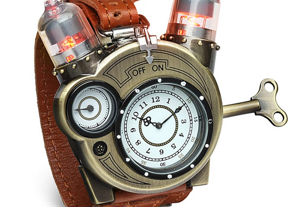 ThinkGeek Tesla Watch Light Up Vacuum Tube Style LED
