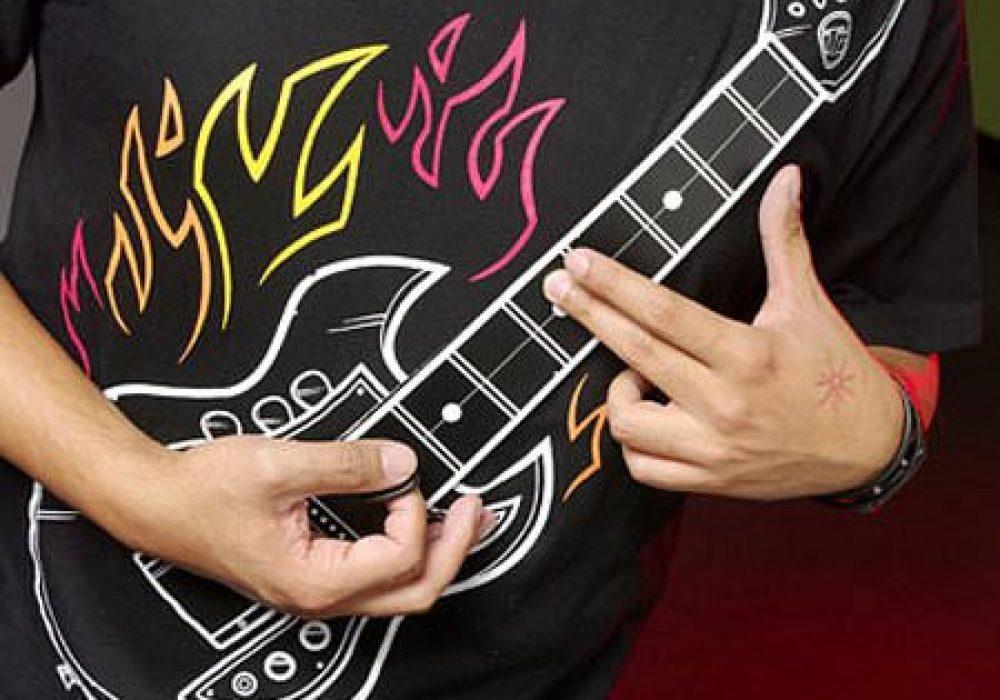 Thinkgeek Electronic Rock Guitar Shirt Gift for Son