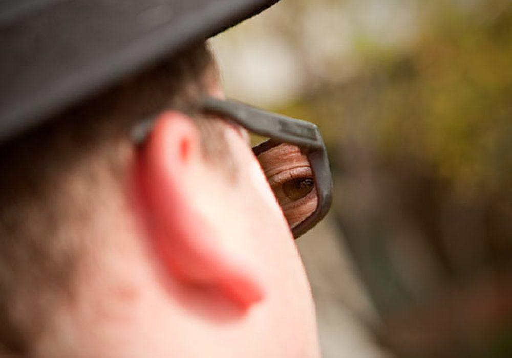 Thinkgeek Rear View Spy Sunglasses Watch your Back