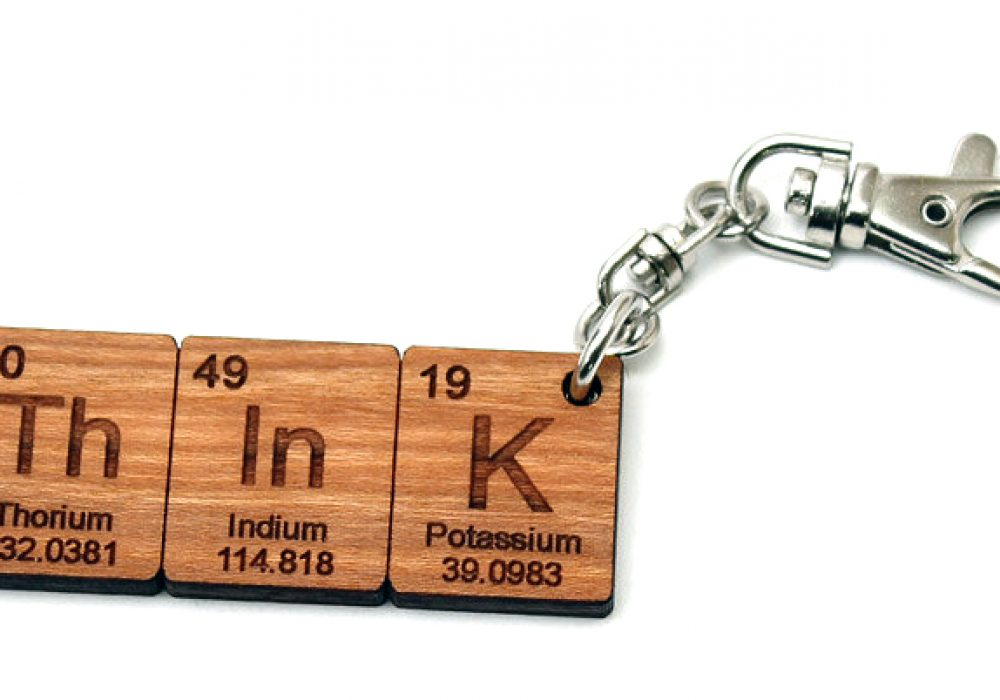 Timber Green Woods Custom Chemistry Element Keychain Stuff Geeks Would Dig