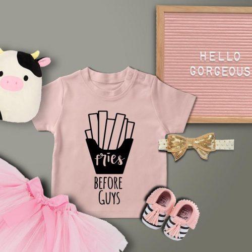 Toddler Shirt Fries Before Guys