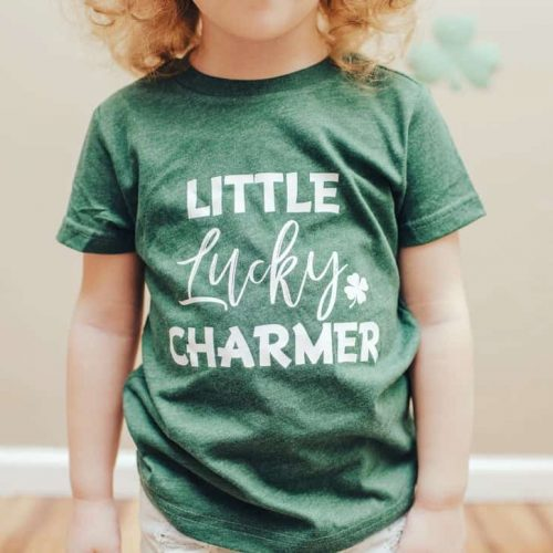 Toddler Shirt Little Lucky Charmer