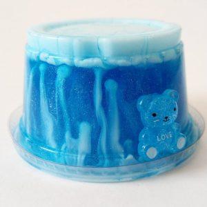 Transparent Blue Bear Slime