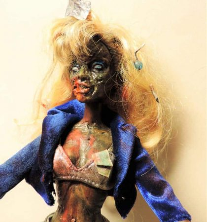 Trashy Hooker Zarbie Zombie Barbie Doll
