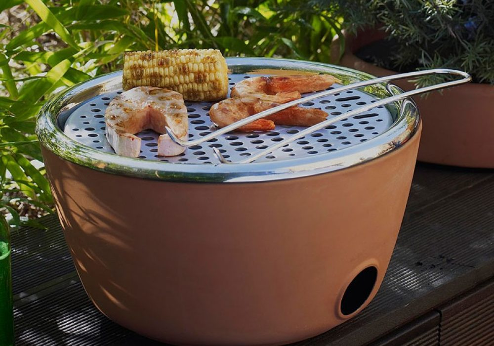 Two in One Planter & Barbecue Weekend Garden Party Activity
