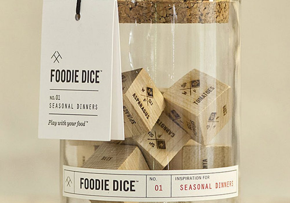 TwoTmbleweeds Foodie Dice Cool Kitchen Gadget