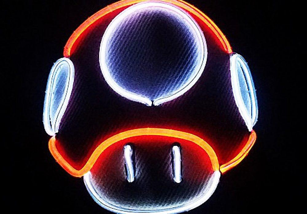 Twstd Glow Light Up Mushroom Hat Gift Idea For Kids