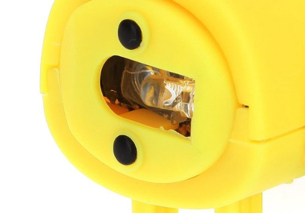 USB Optical Mouse Yellow Detail