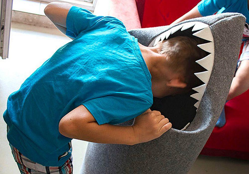 Uczarczyk Baby Shark Felt Storage Basket 100 Percent Polyester Felt