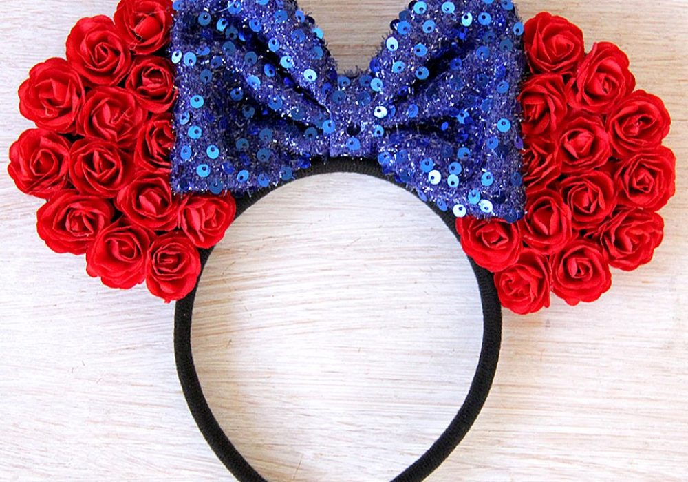 Ulous Snow White Mickey Ears Beautiful Gift for Her