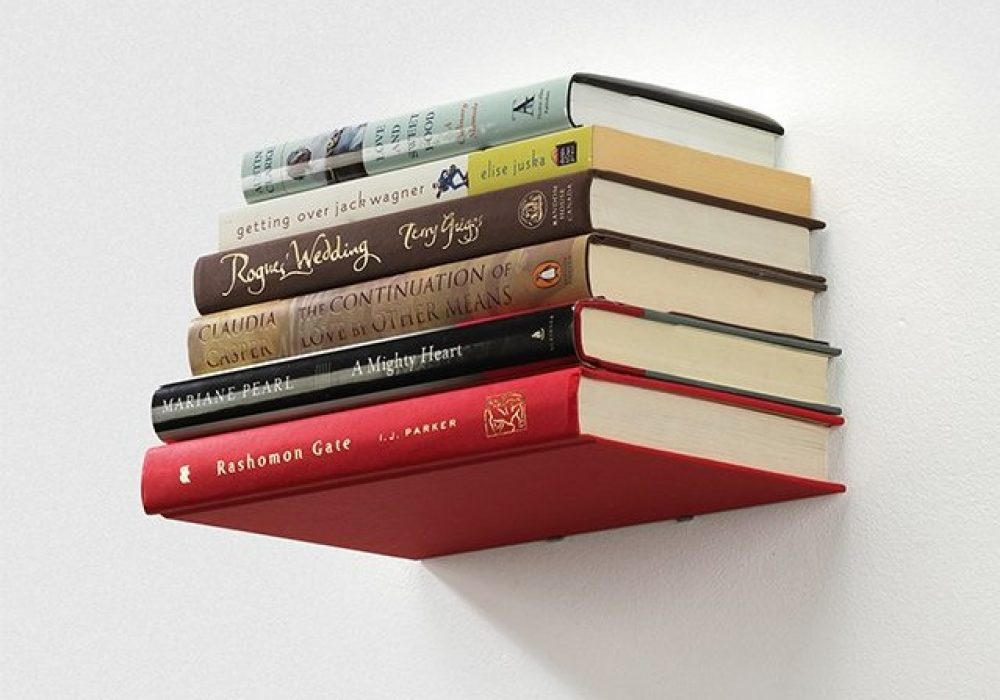 Umbra Conceal Floating Book Shelf Minimalist Interior Design