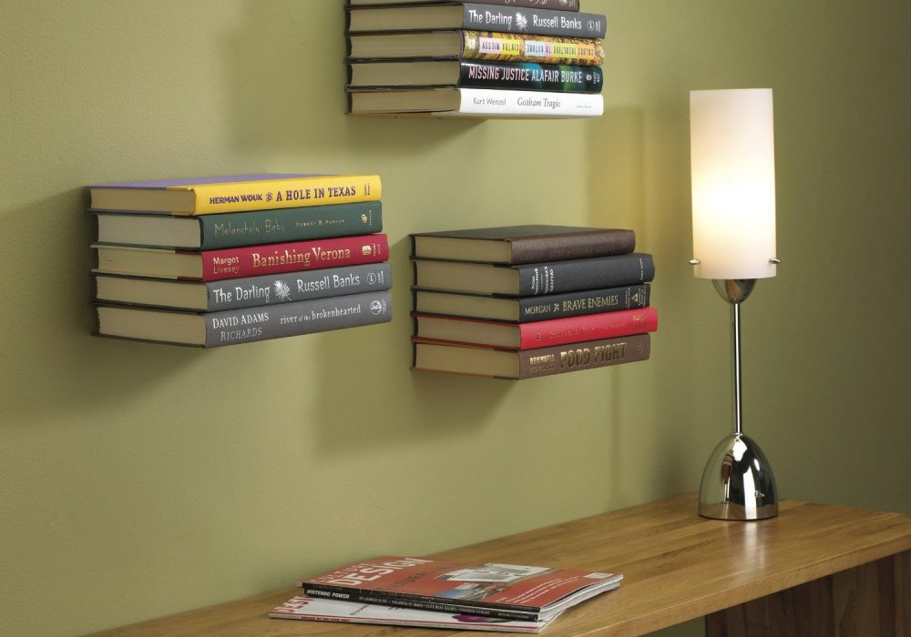 Umbra Conceal Floating Book Shelf Small Library on Your Wall