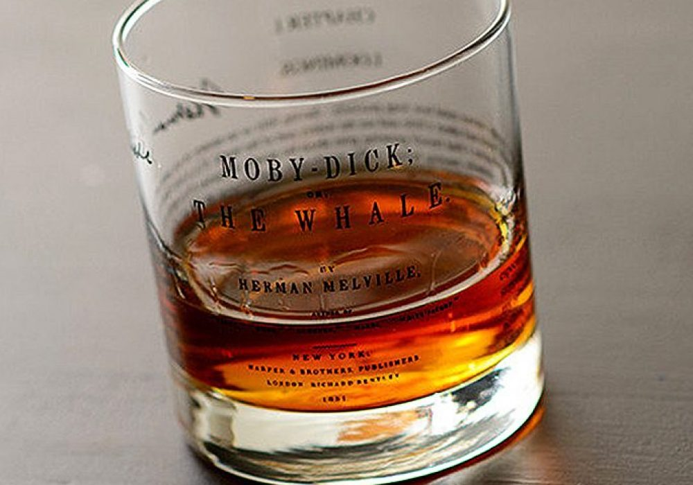 Uncommon Green Moby Dick Whiskey Glass Cool Gift Idea