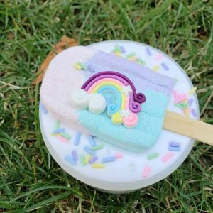 Unicorn Popsicle Slime