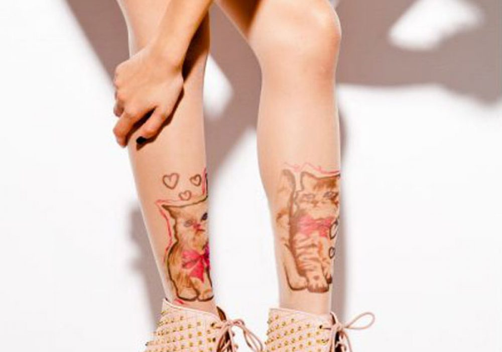 Unus-Buggy-Cats-Tattoo-Tights-Cute-Leggings-Gift-for-Her