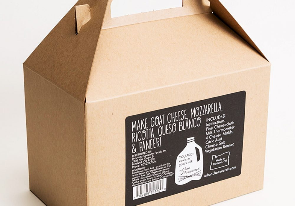 Urban Cheesecraft Deluxe DIY Cheese Kit Easy to Use