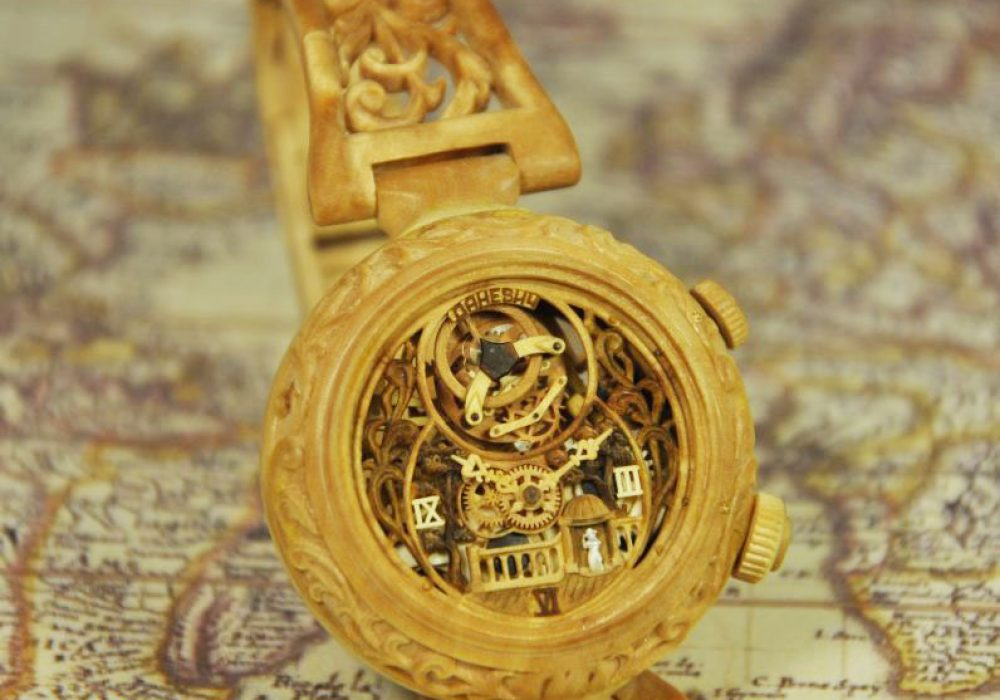Valerii Danevych Nostalgia Wooden Wrist Watch Expensive Things