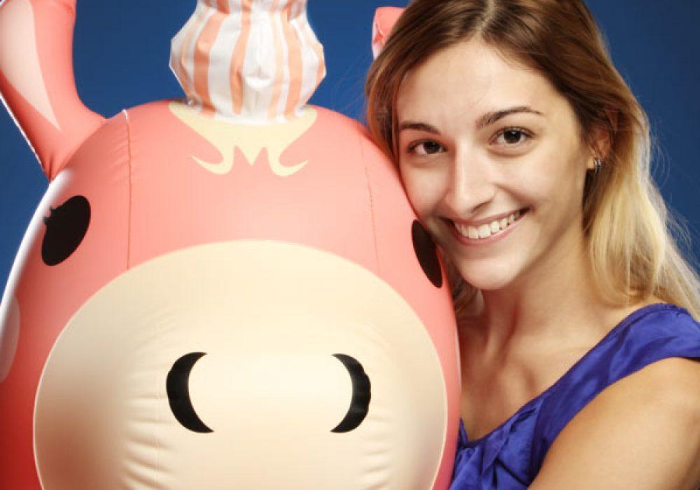 Valve Team Fortress 2 Inflatable Balloonicorn Giant Unicorn