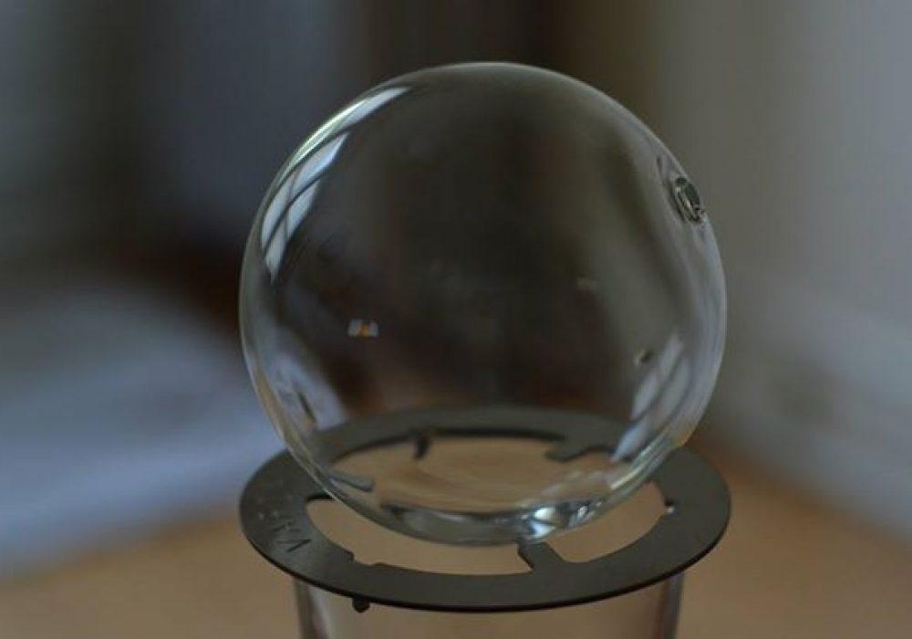 Vaportini Alcohol Vaporizer Inhaler Kit Glass Ball Top