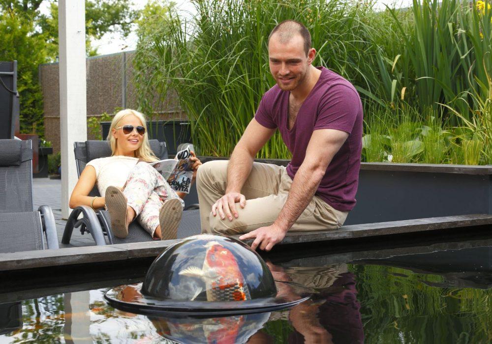 Velda Floating Fish Dome Garden Pond Accessory