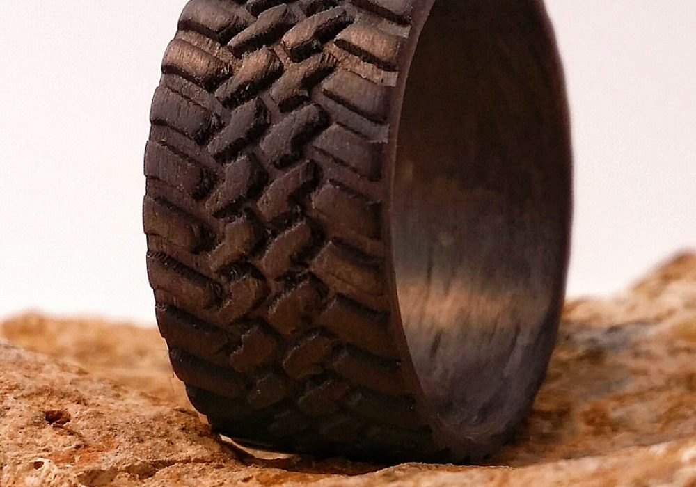 Venture Custom Off Road Tire Carbon Fiber Ring Buy Manly Ring