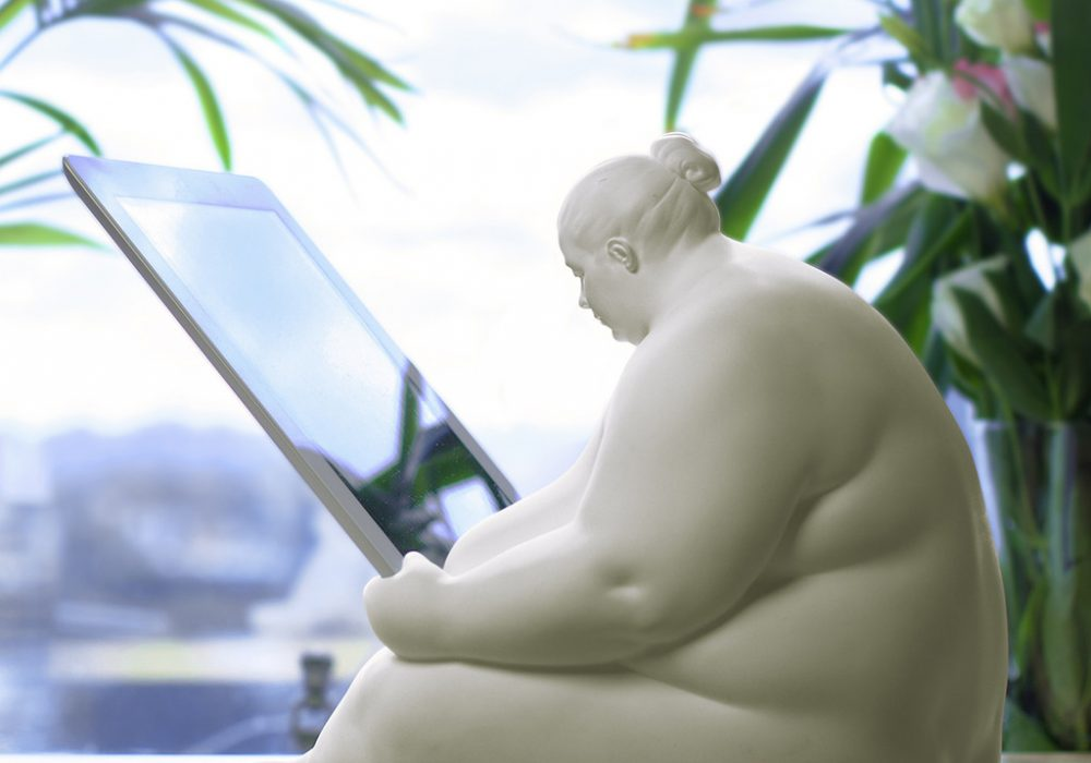 Venus of Cupertino - iPad Docking Station Featured