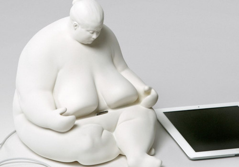Venus of Cupertino - iPad Docking Station Statue