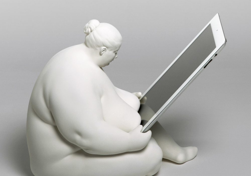 Venus of Cupertino - iPad Docking Station classical