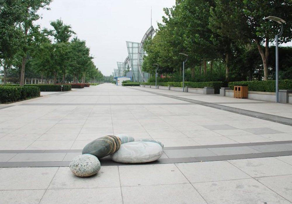 Vercart Living Floor Stone Pillows Outdoor