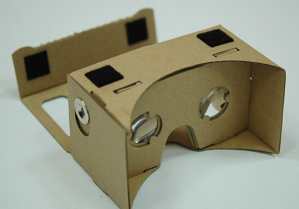 Virtual Reality Google Cardboard Glasses Cool Android Accessory to Buy