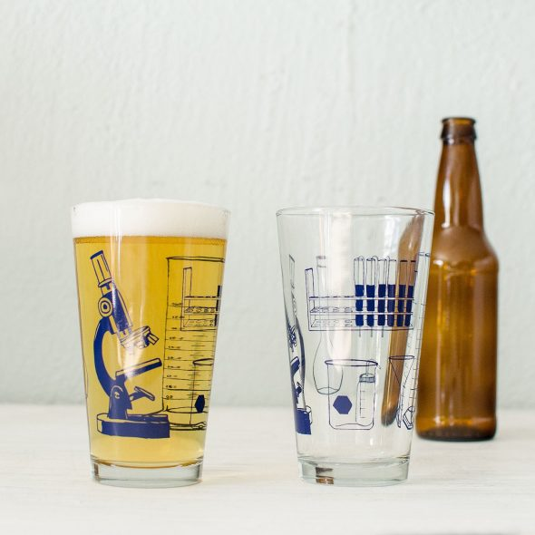 Vital Science Tools Pint Glass