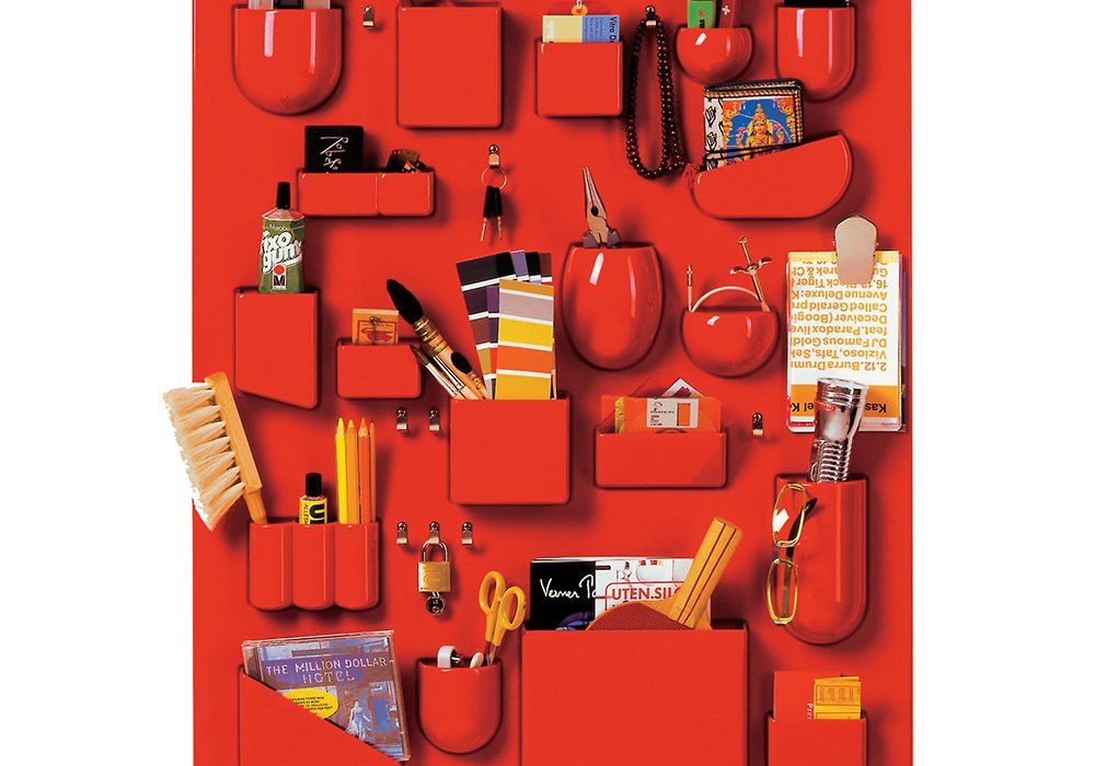 Vitra Uten Silo Wall Storage Red Stylish Designer Stuff to Drool on