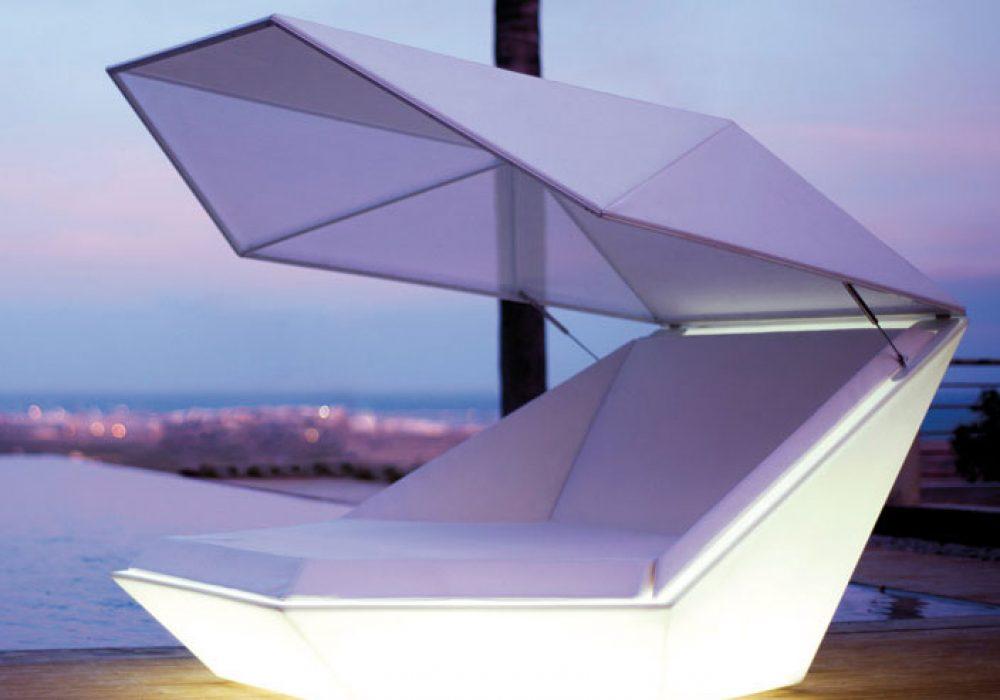 Vondom Faz Illuminated Daybed Cool Furniture to Buy