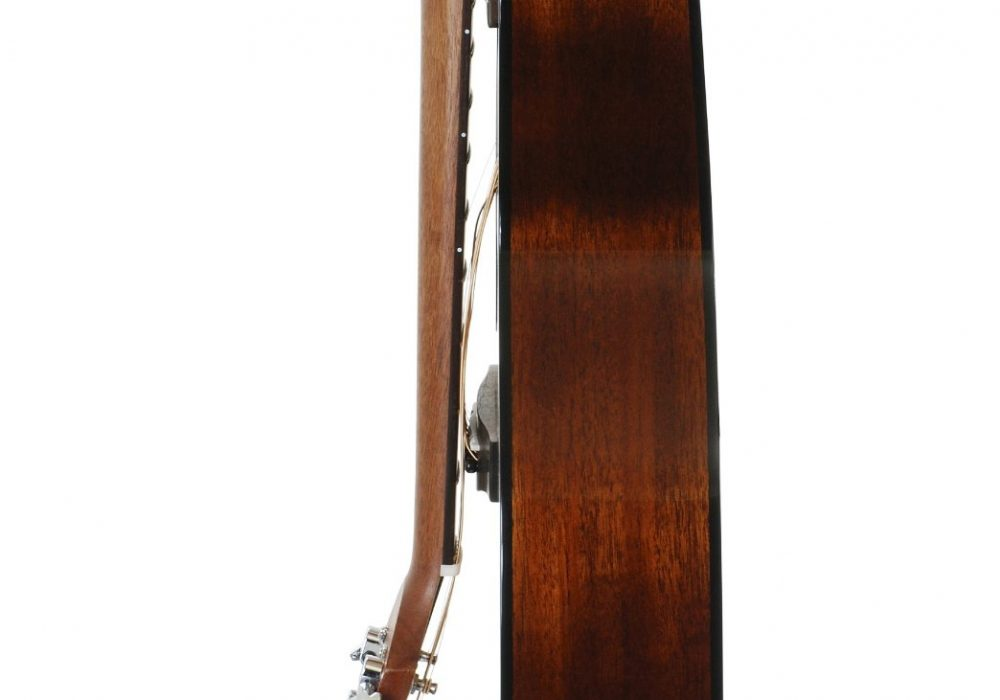 Voyage-Air Transit Series VAOM-02 Folding Orchestra Model Acoustic Guitar Side