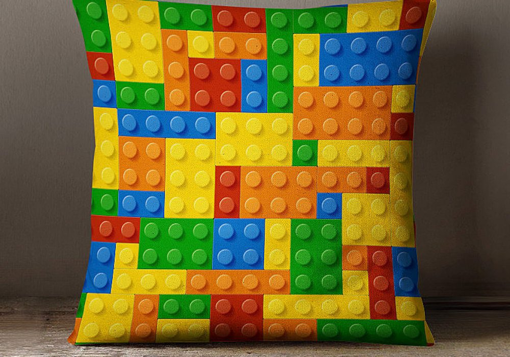 W Francis Design Lego Pillow Cute Novelty Gift to Buy