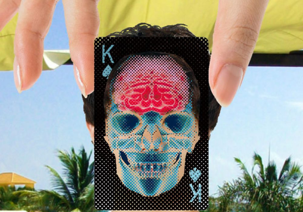 Waku Design X-Ray Deck of Cards Cool Gift Idea for Him
