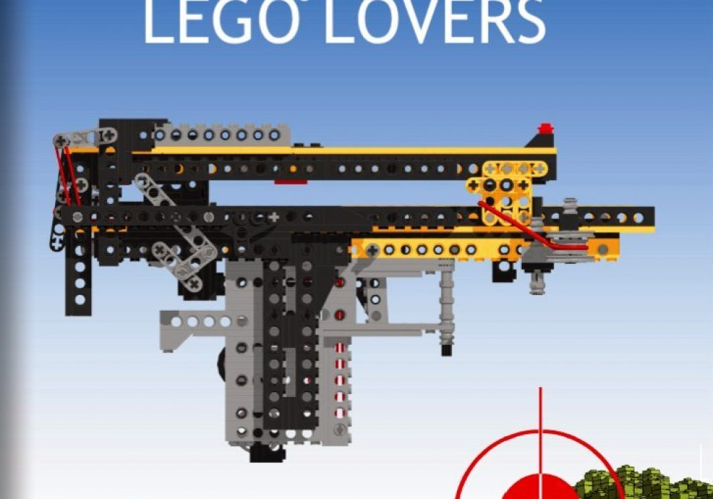 Weapons for Lego Lovers Front Cover DIY Gun
