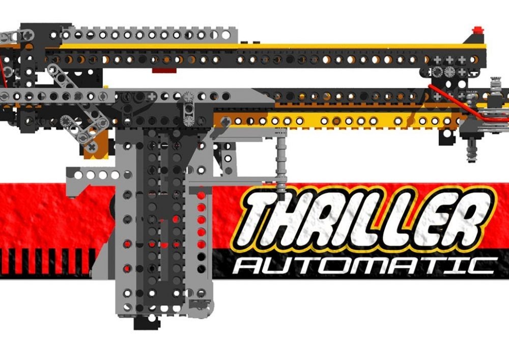Weapons for Lego Lovers Thrileer Automatic Gun