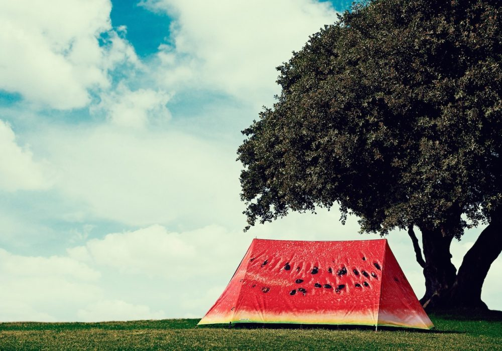 What a Melon 2-Person Tent Cool Looking Camping Gear