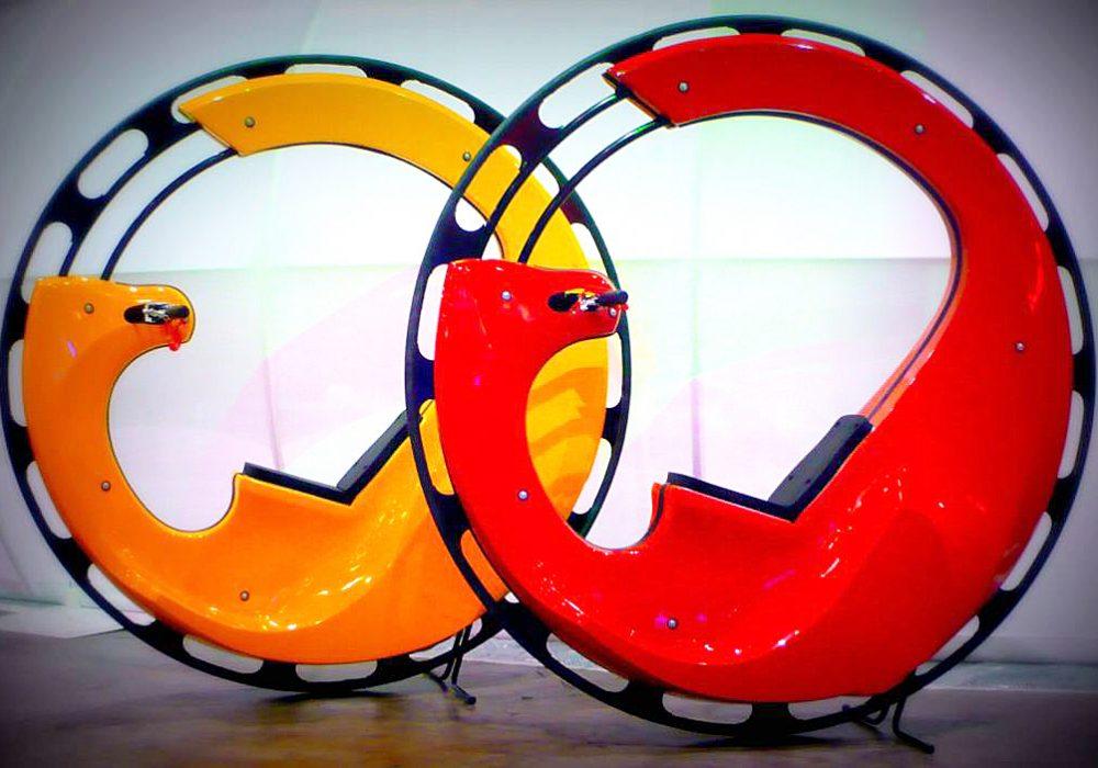 Wheelsurf Motorized Monocycle Unique Bike Design