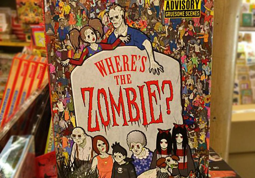 Where is The Zombie Book Buy Cool Zombie Book