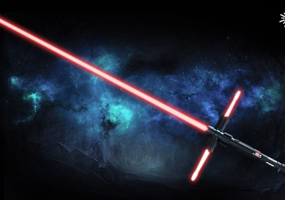 Wicked Lasers Crossguard Lightsaber Concept