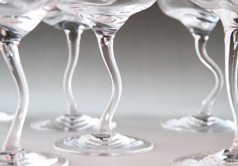 William Warren Drunk Wine Glass Tipsy Glasses