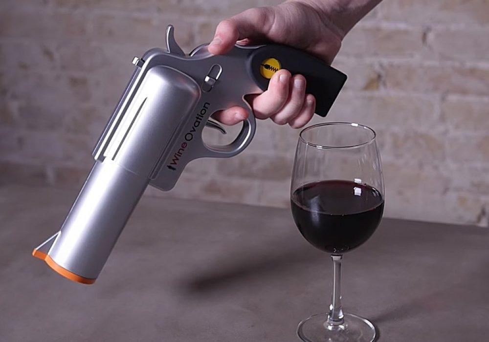 WineOvation Powered Wine Opener Gun Buy Fun Party Tool