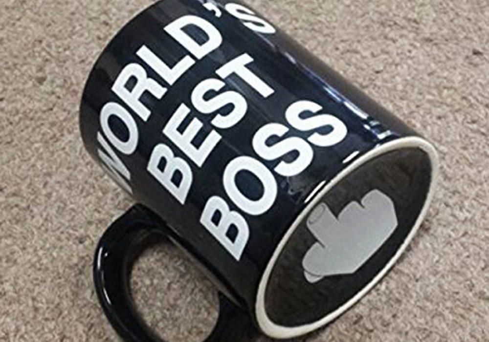Worlds Best Boss Mug Novelties