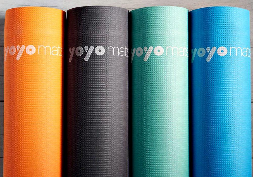 YoYo Mats Self Rolling Fitness & Yoga Mat Gym Equipment