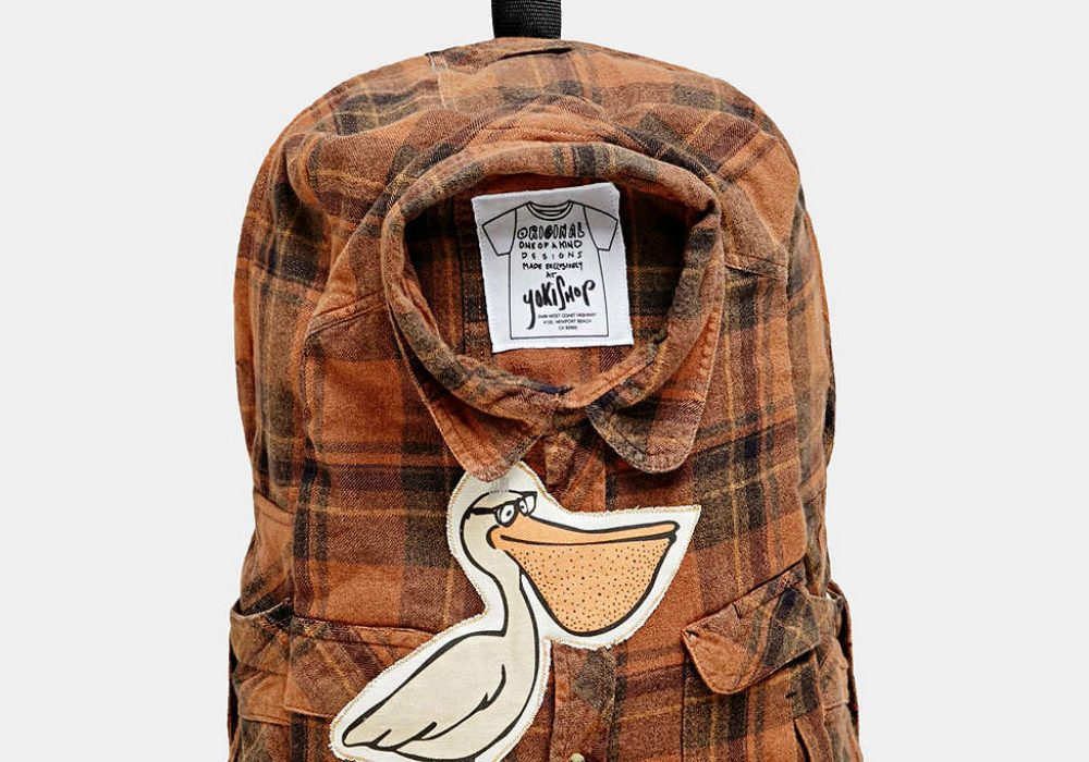 Yokishop Jet Plane Backpack Button Down Shirt Inspired Design